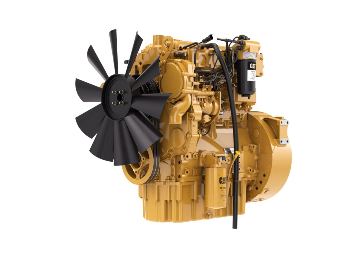 C4.4 LRC Diesel Engines - Lesser Regulated & Non-Regulated