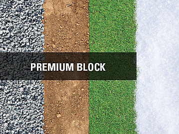Premium Block Purpose suitable for Gravel, Dirt, and grass.