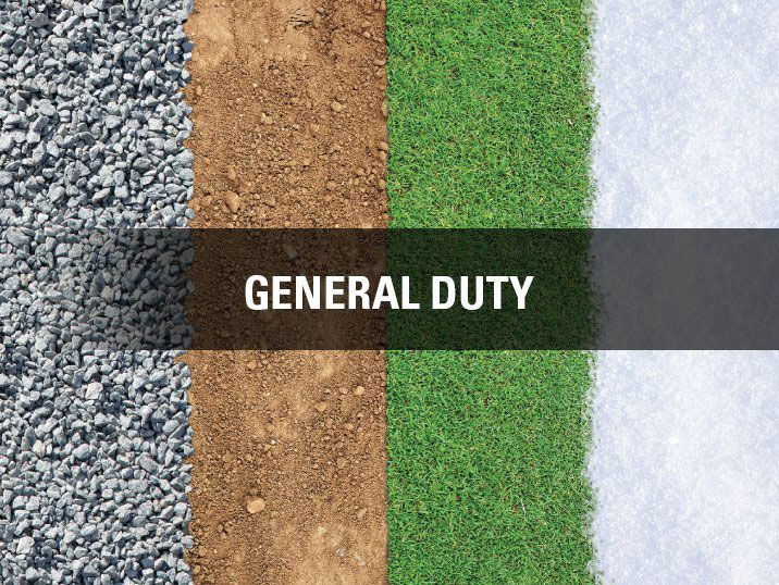 General Purpose suitable for Gravel, Dirt, grass, and snow
