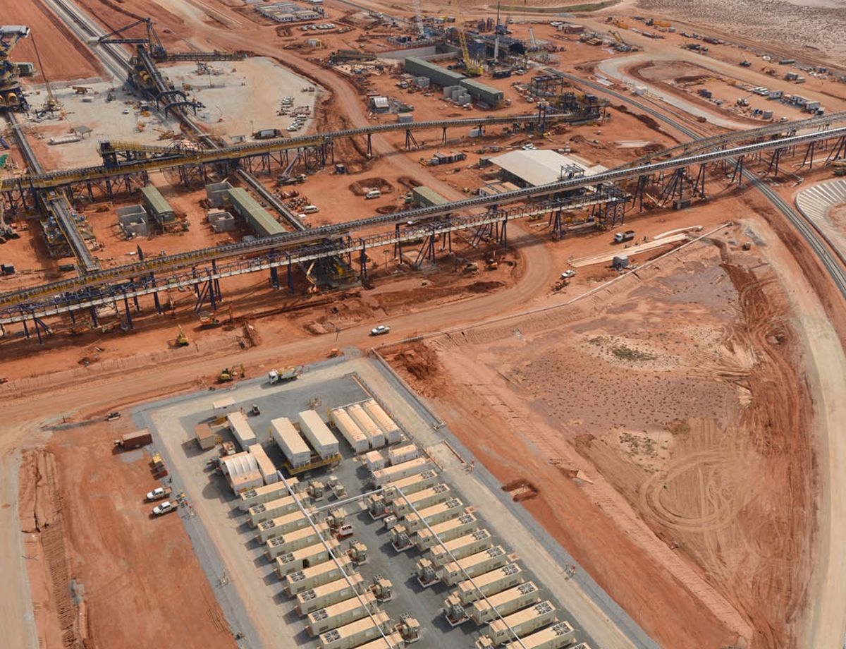 Reliable power and flexible purchase options delivered to iron ore facility