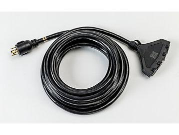 Cordon d'alimentation multiconnecteur (25ft)