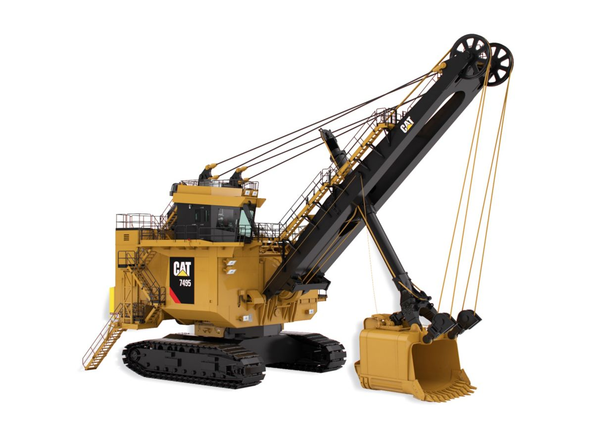 Electric Rope Shovels 7495 with Rope Crowd
