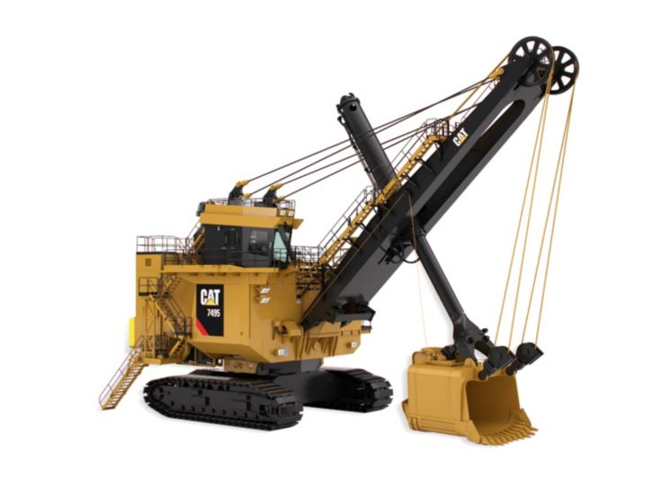 Motor Graders - 7495 with HydraCrowd