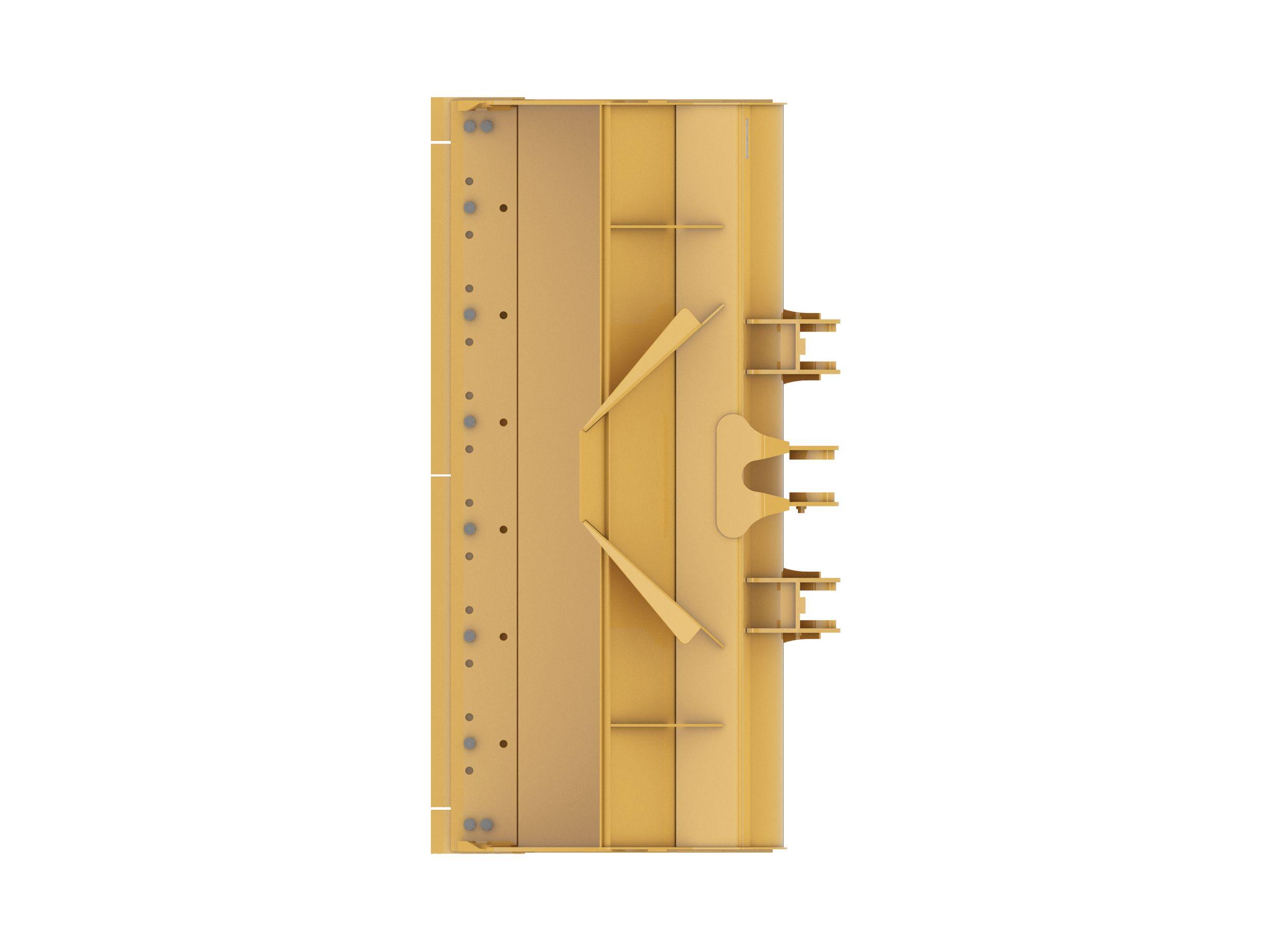 Gallery 3.5 m3 (4.5 yd3), Pin On, Bolt-On Cutting Edge