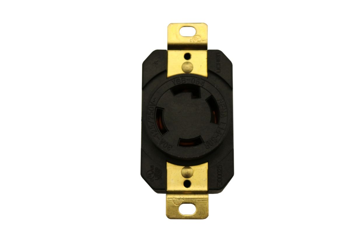 Image for 240VAC Locking Outlet from Omni US Store