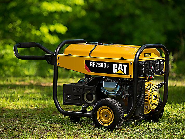 Cat | 7500 Watt Portable Generator | Cat RP7500 E | Caterpillar