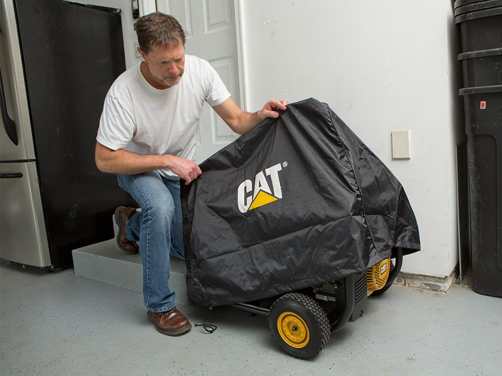 Keep your generator clean and protected