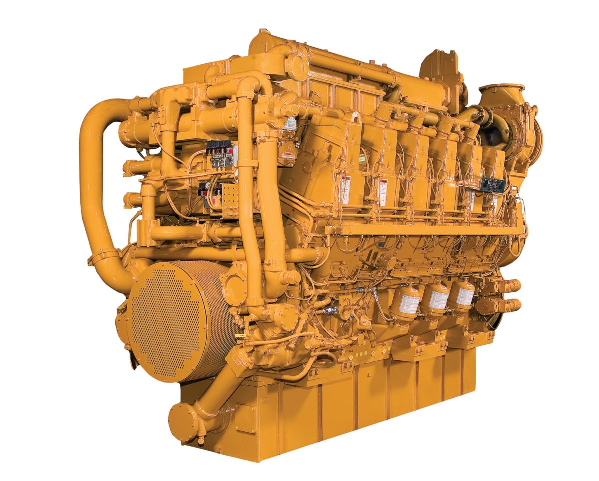 Cat C280 Marine Auxiliary Engines