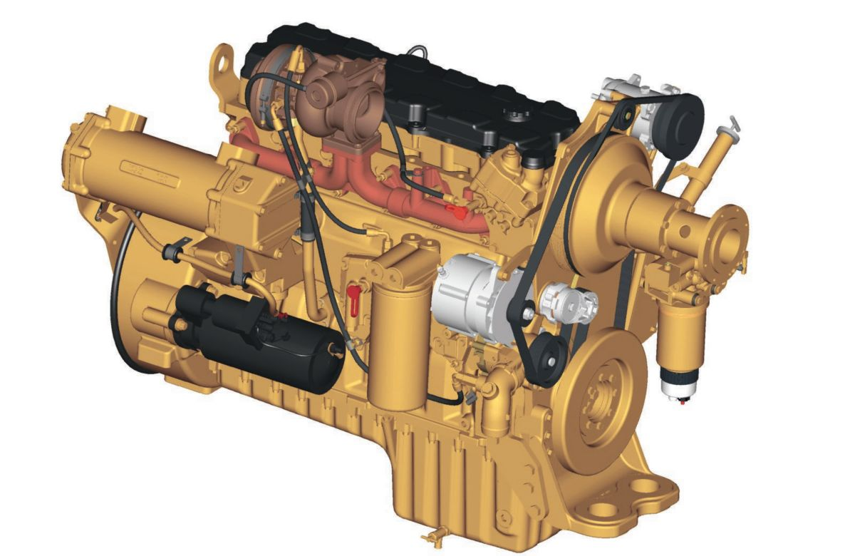 Power Train. The Cat® C9 engine with ACERT™ ...