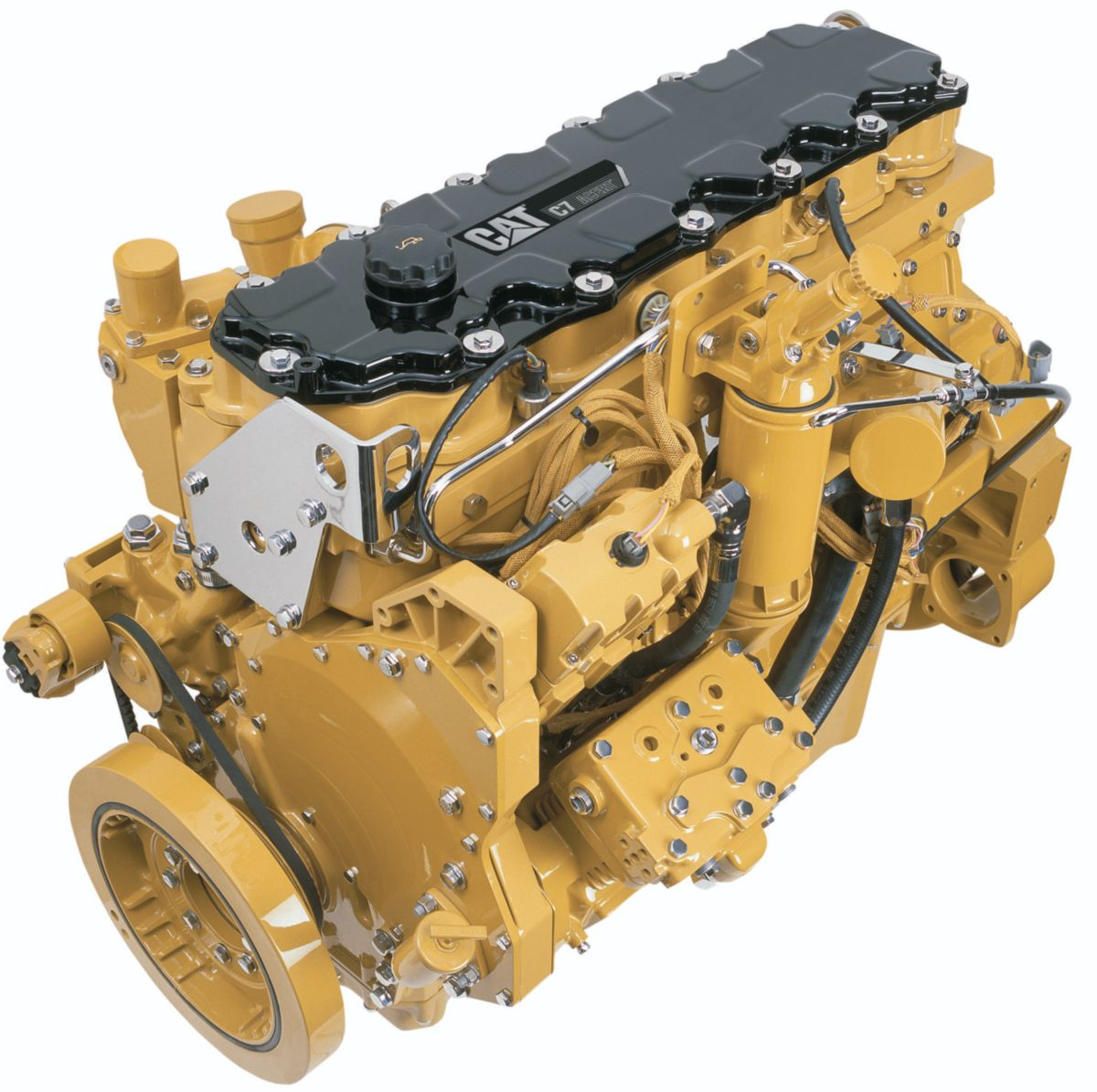 caterpillar 3126b, 3126e engine electrical wiring diagram