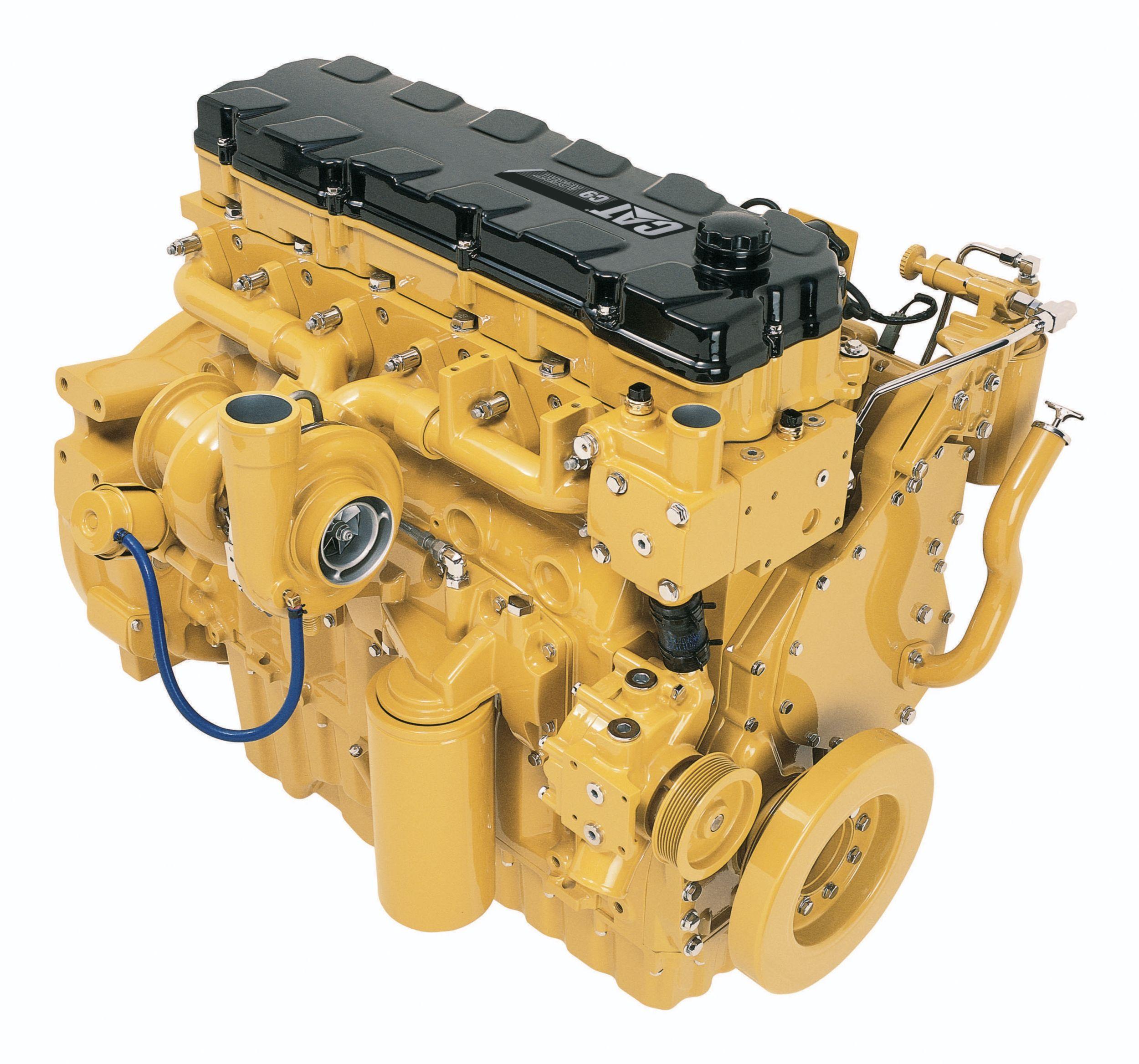 Cat C7 Engine Sensor Locations: New MH3059 Wheel Material Handler