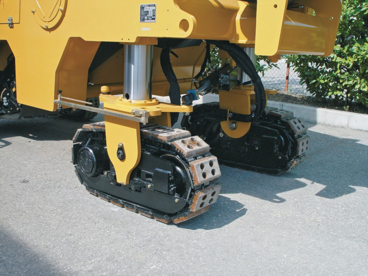New pm102 wheel undercarriage cold planer for sale for Hydraulic track drive motor