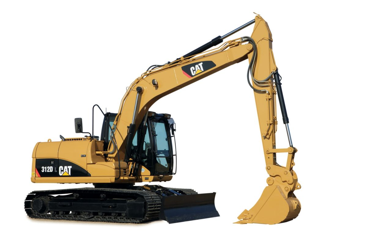 312D Hydraulic Excavator Page | Cavpower