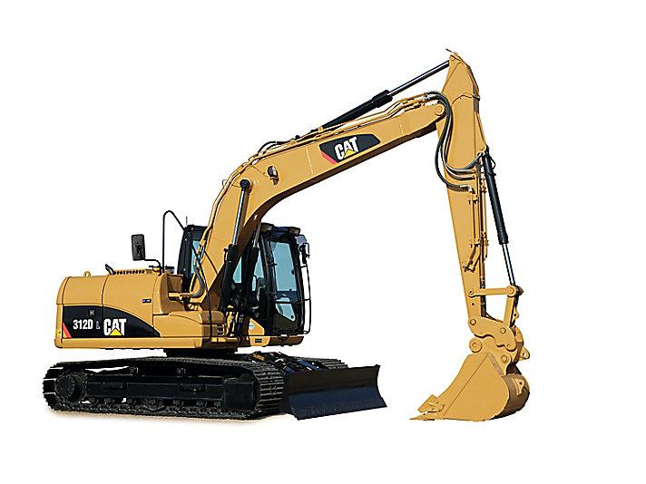 Cat 312d Hydraulic Excavator Caterpillar
