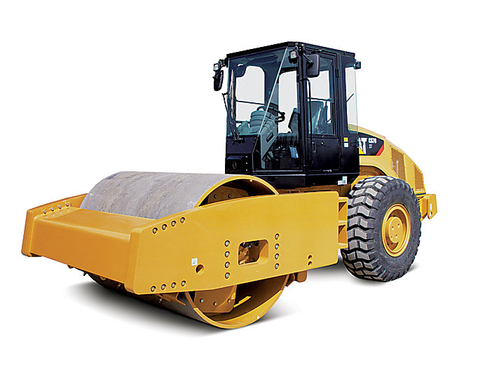 Cat Cs76 Xt Vibratory Soil Compactor Caterpillar
