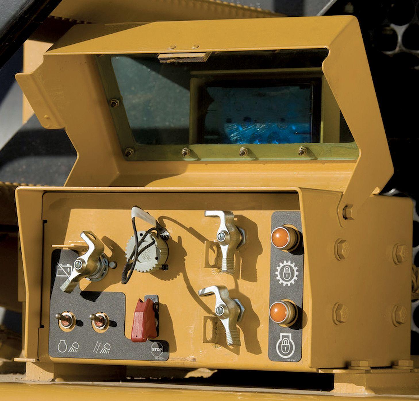 Off Highway Trucks Mining Toromont Cat Tel Tach Wiring Diagram For Msd Safety