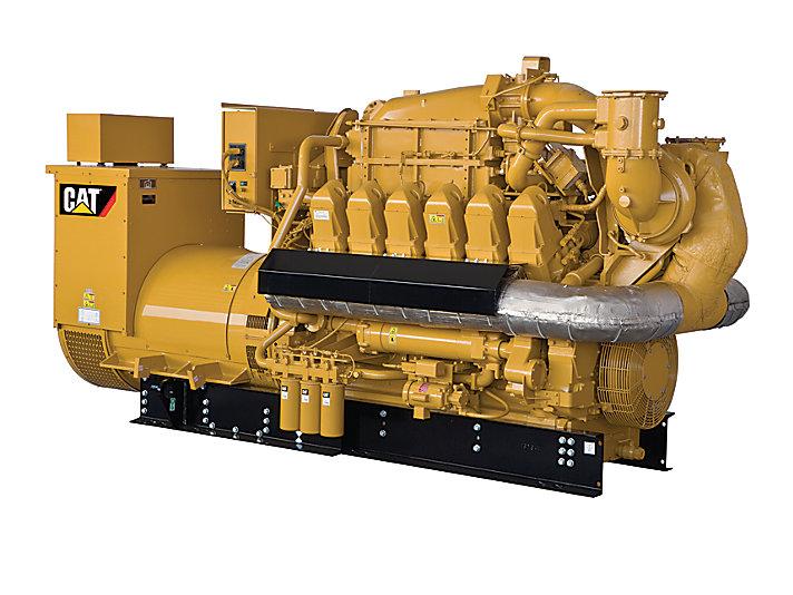 Cat G3512e Gas Generator Set Caterpillar