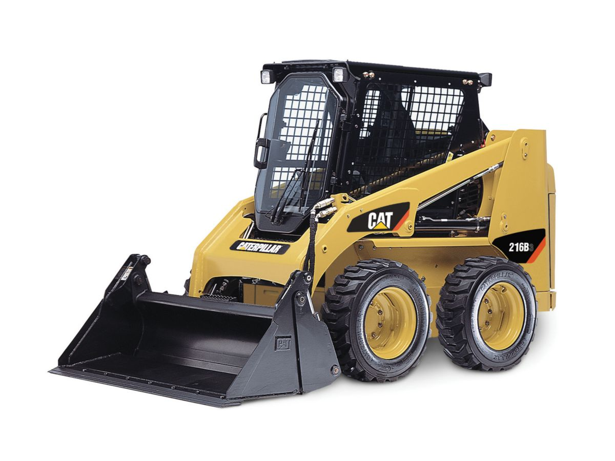 New Cat® 216B Series 3 Skid Steer Loader 17817586 in UAE