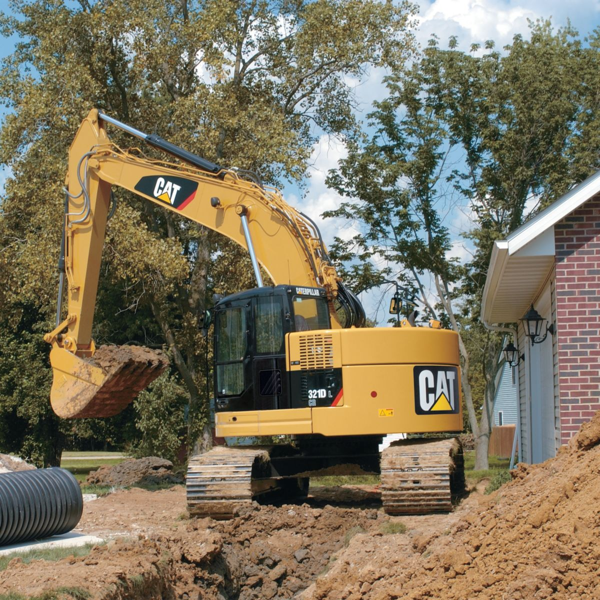 New 321d Lcr Hydraulic Excavator For Sale Thompson