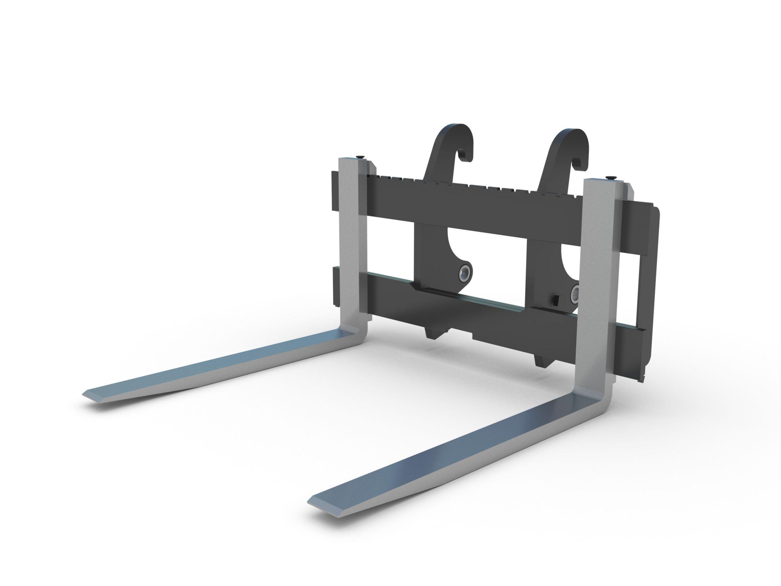 Forks-Backhoe loader