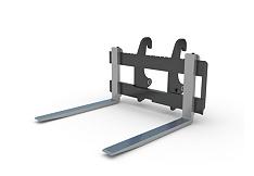 叉子 - 反铲装载机