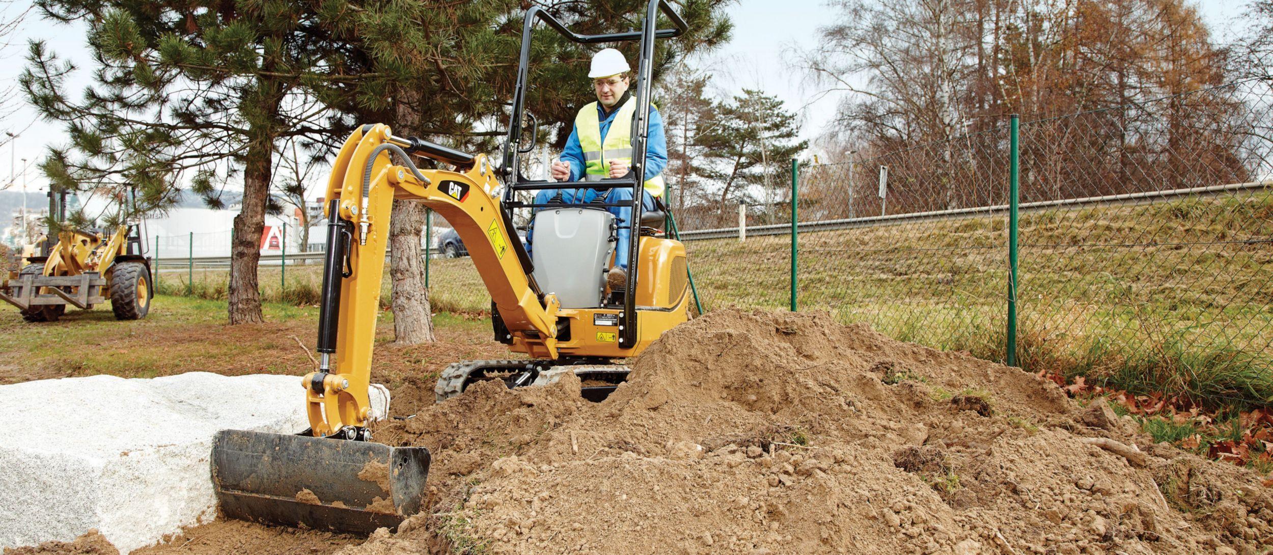 New Cat Cat 300 9d Mini Hydraulic Excavator For Sale