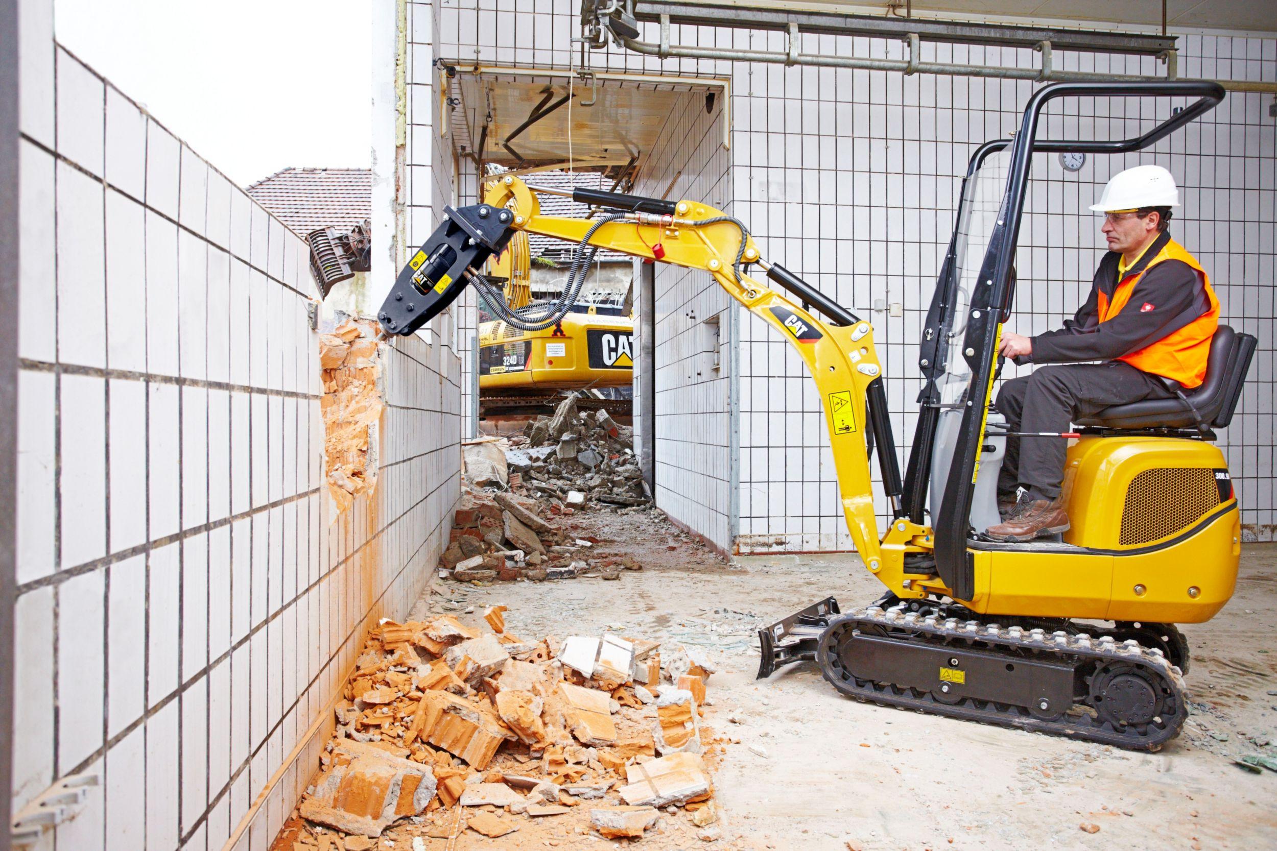 300.9D Mini Hydraulic Excavator>