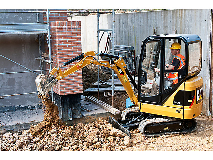 301.4C Mini Hydraulic Excavators