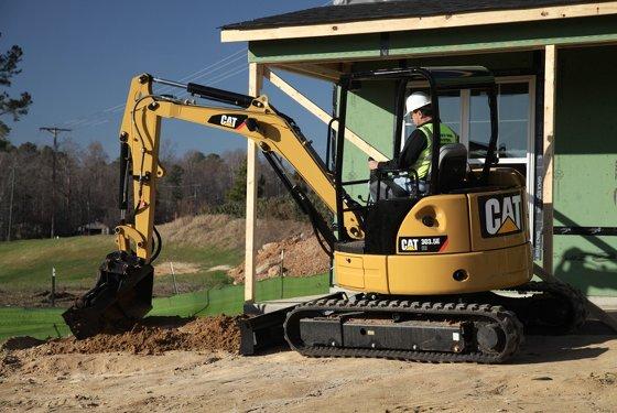CAT 303 5 Mini Excavator, Excavators 1-10 T - Gough Cat