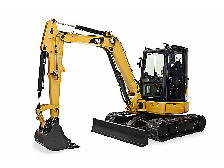 305.5E2 CR Mini Hydraulic Excavator with Swing Boom