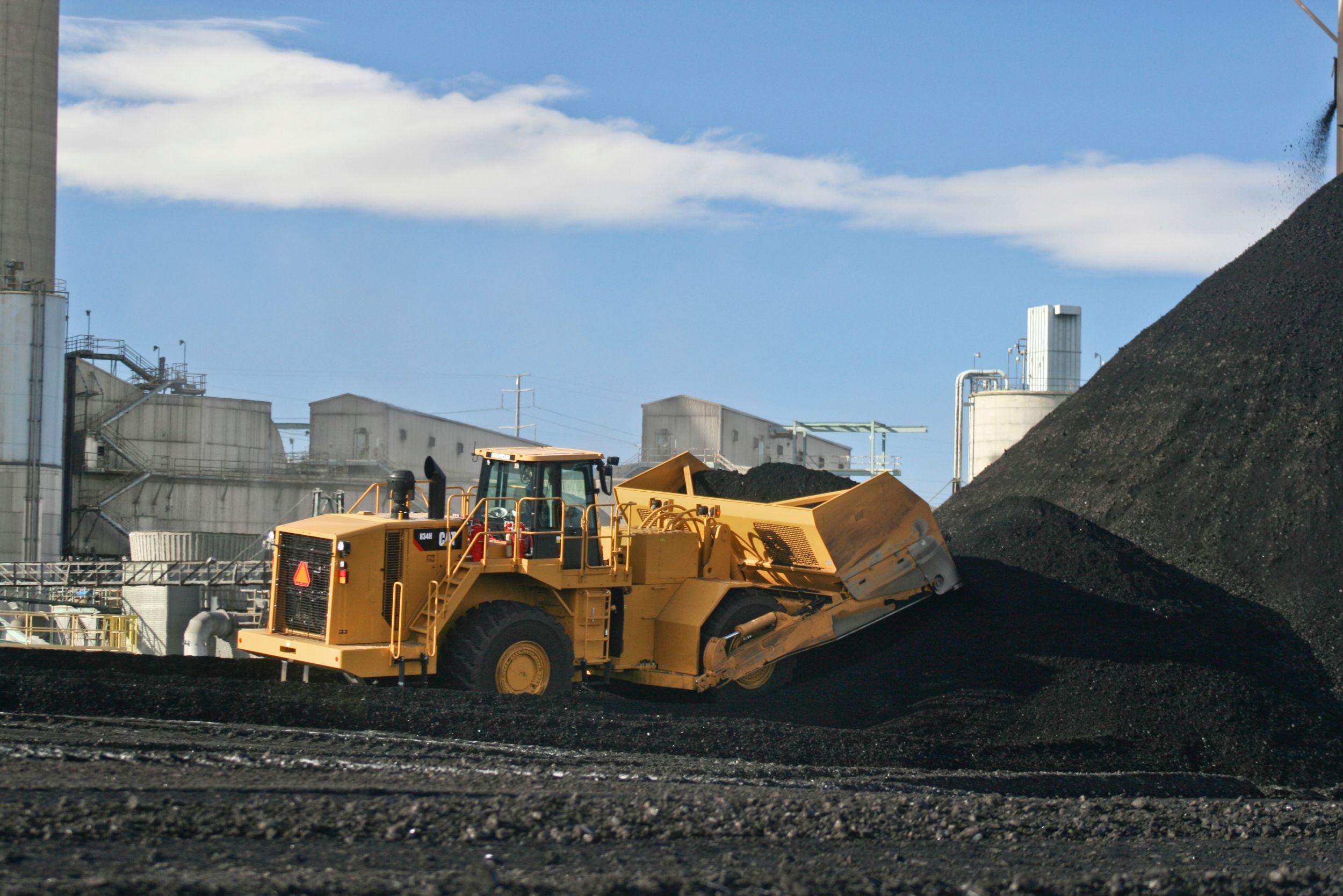 834H Coal Scoops Medium Wheel Dozers