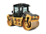 CD54B Drum Steer Tandem Vibratory Roller (Solid Drum)