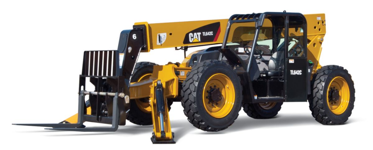 TL642C with Stabilizers Telehandler