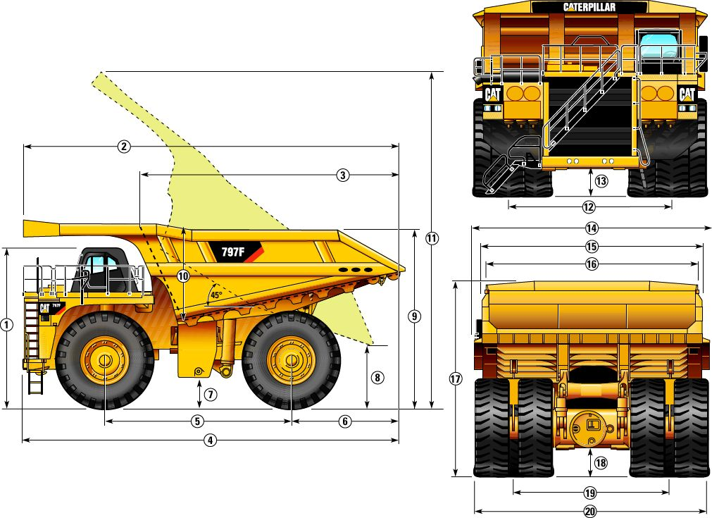 Cat 797f Engine, Cat, Free Engine Image For User Manual ...