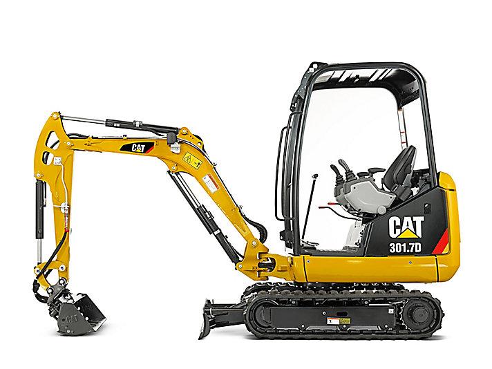 301 7D Mini Hydraulic Excavator   Caterpillar - Cat