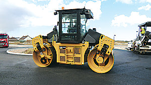 New Caterpillar CD54B - SPLIT DRUM | Mustang Cat | Houston, TX