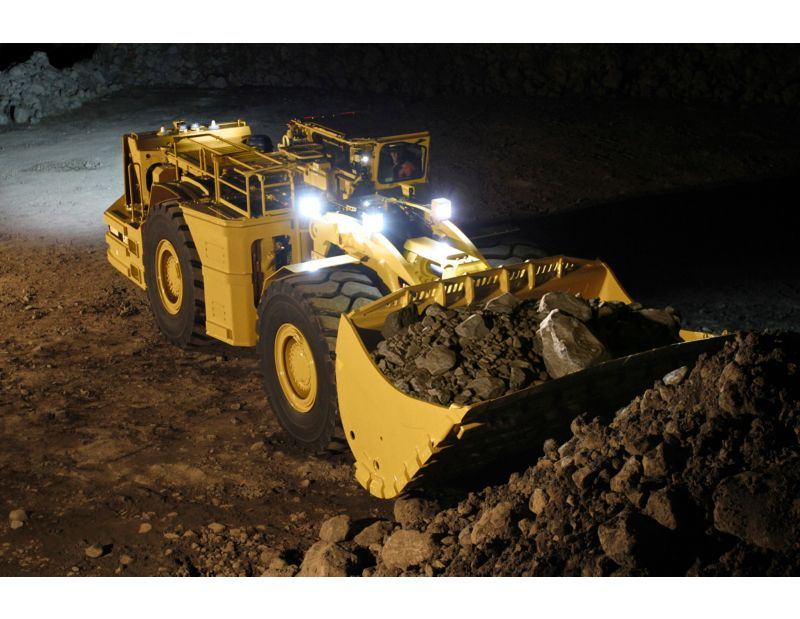 R3000h Underground Mining Loader Ziegler Cat