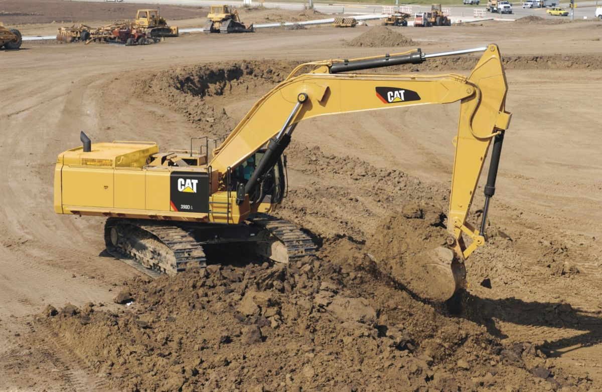 product-390D L Large Hydraulic Excavator