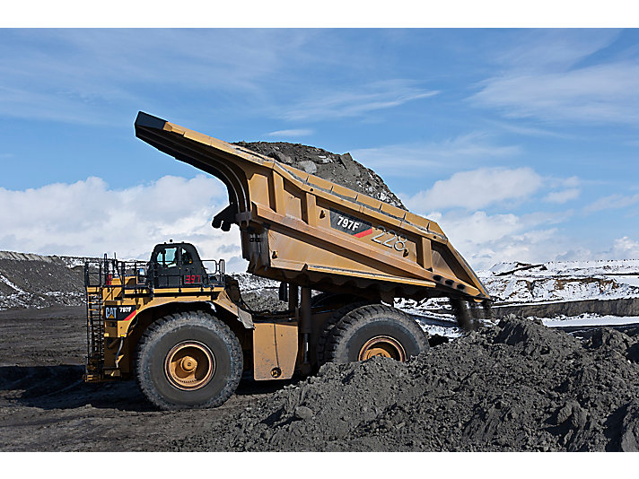 Cat | 797F Mining Truck | 400 Ton Haul Truck | Caterpillar