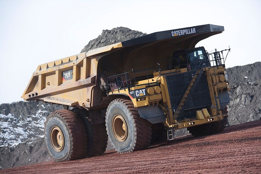 797F Mining Truck