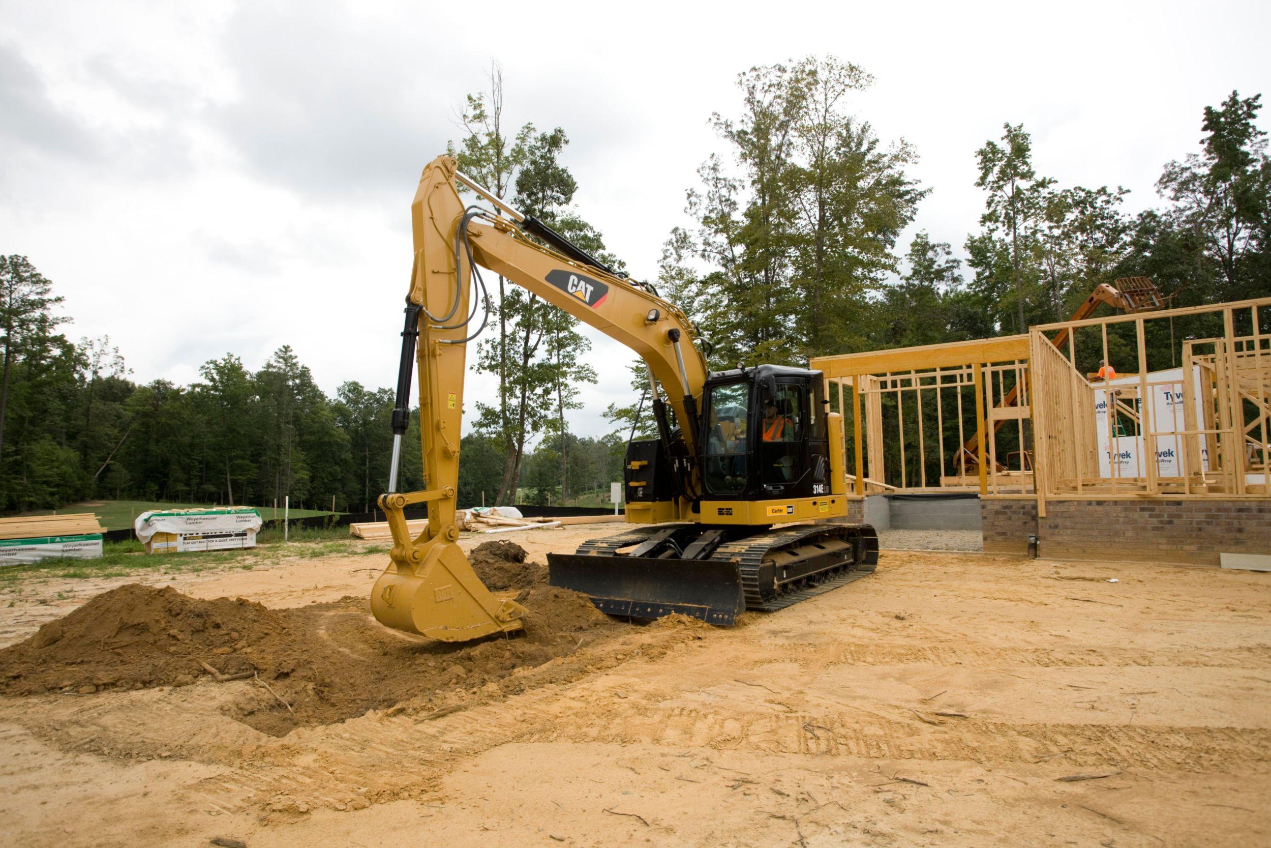 314E L CR Small Excavator