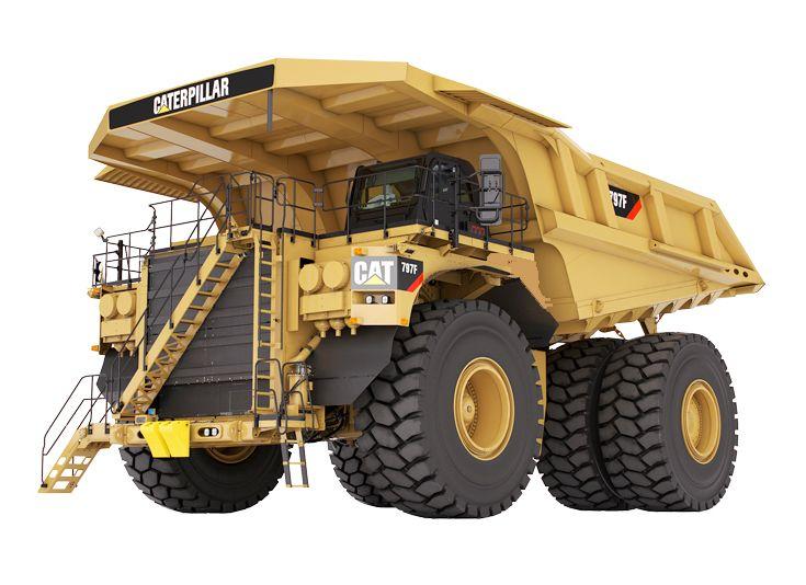 Tombereaux pour applications minières - 797F