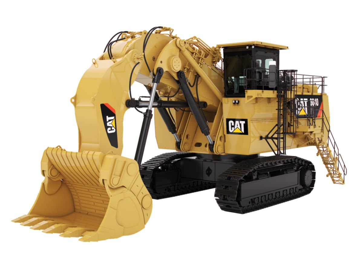New CaterpillarHydraulic-Mining-Shovels