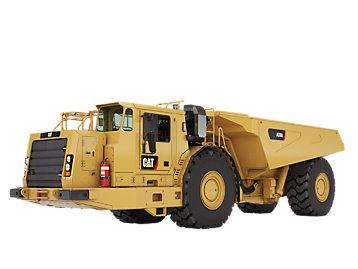 Camiones mineros subterráneos
