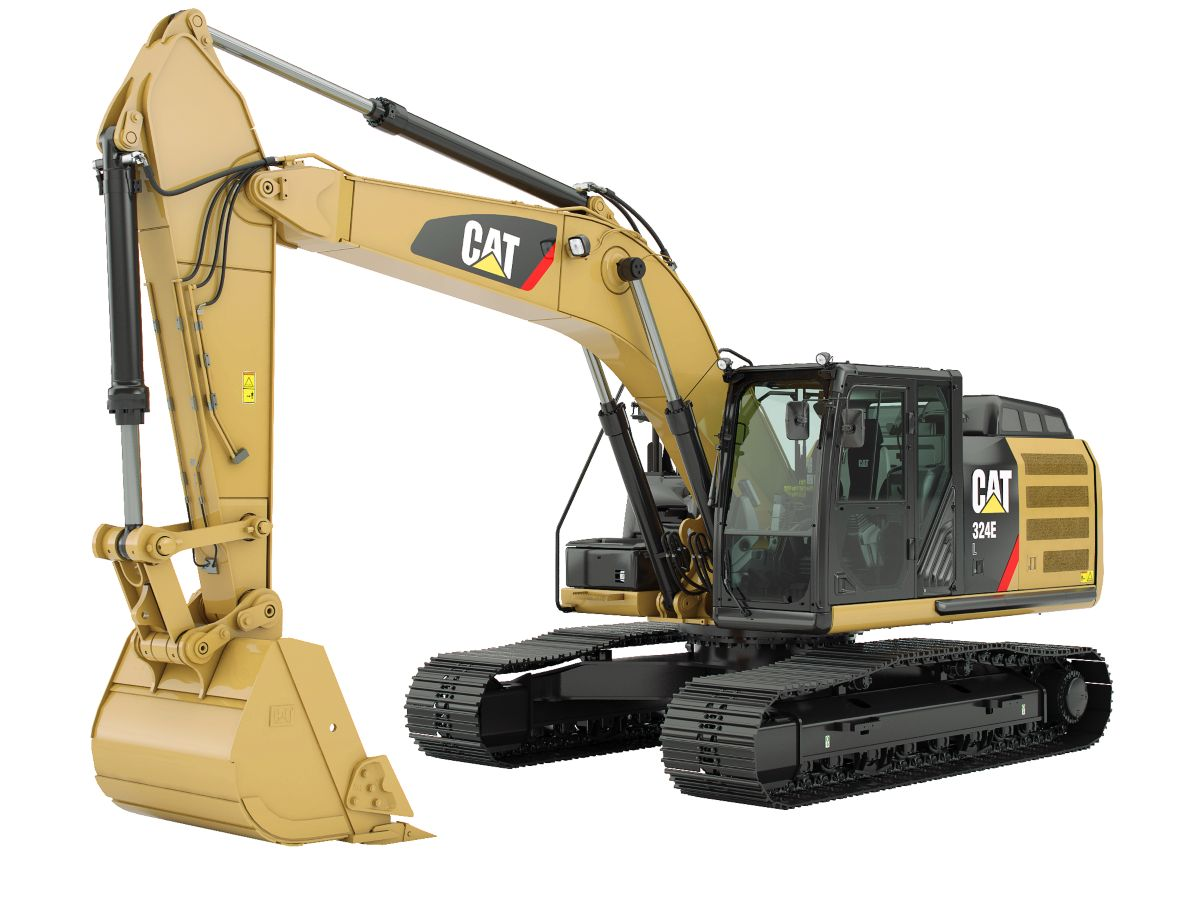 New Caterpillar Medium Excavators