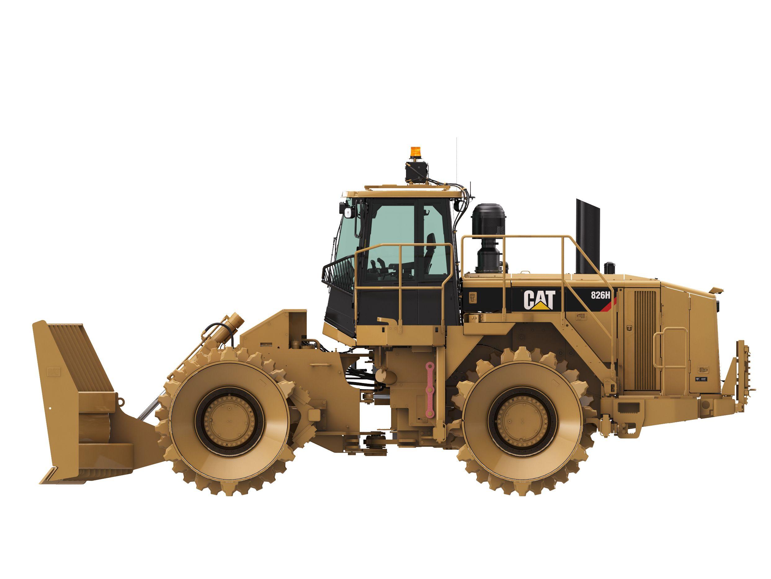 New Caterpillar Landfill Compactors