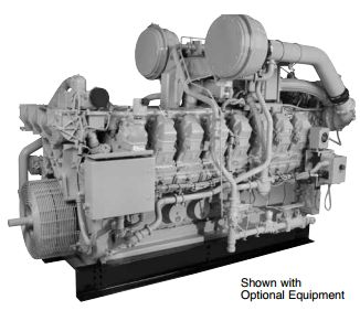G3512/G3512B Industrial Gas Engine