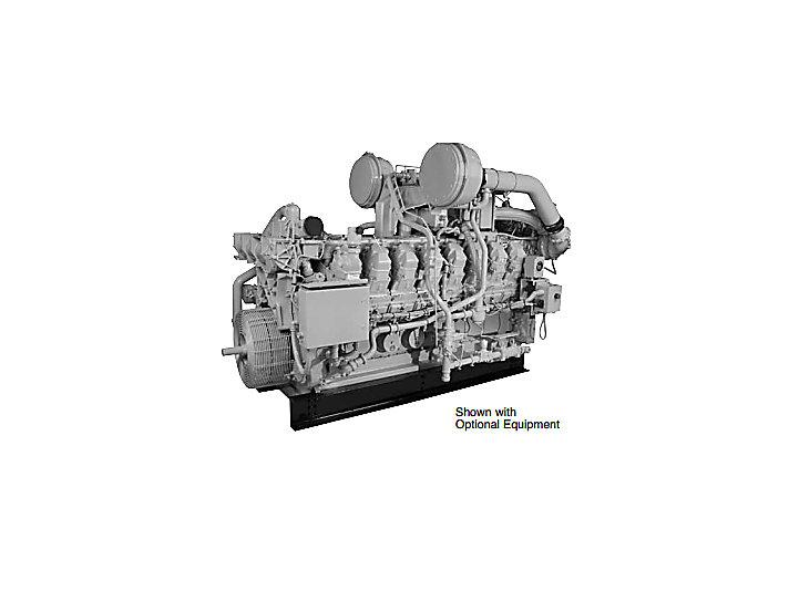 G3512/G3512B Industrial Gas Engine