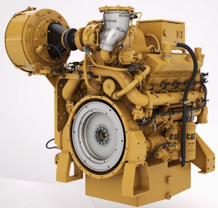 CG137-8 Gas Compression Engine