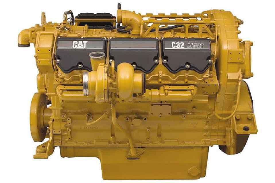 C32 LRC Diesel Engines – Lesser Regulated & Non-Regulated